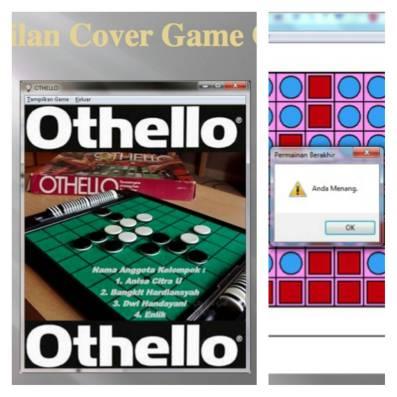 Project dari mata kuliah Pengantar Kecerdasan Buatan, game Othello dengan software Strawberry Prolog