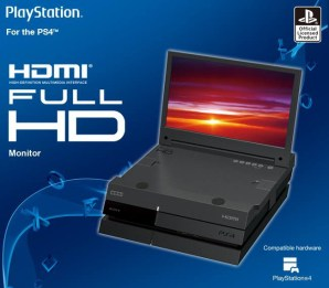 Monitor HDMI portabel untuk PS4