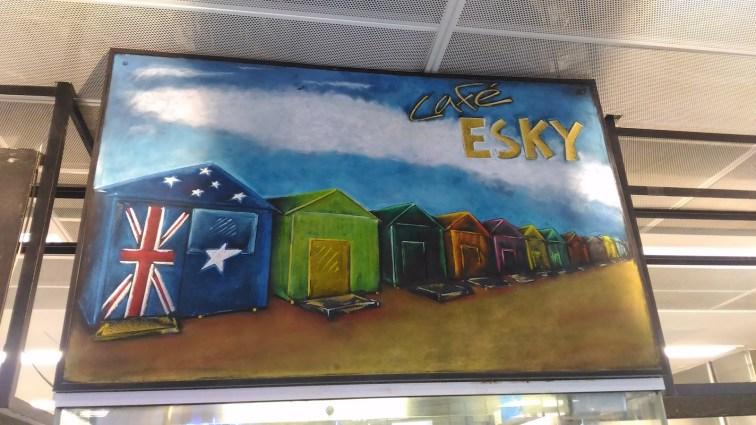 Ilustrasi Esky Cafe