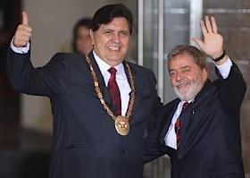 Lula da Silva y Alan García