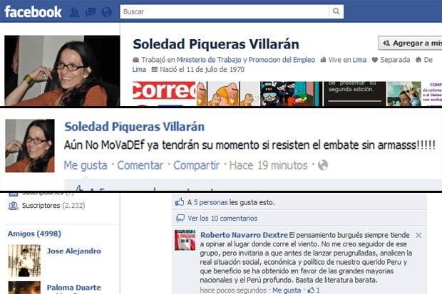 Soledad Piqueras genera polémica en Facebook