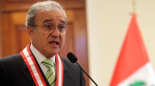 Presidente del JNE, Hugo Sibina
