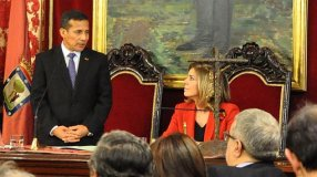 Presidente Humala ofrece discurso tras condecoración