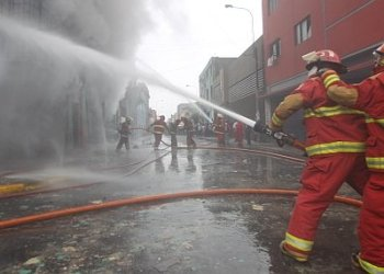 Otro incendio en Lima
