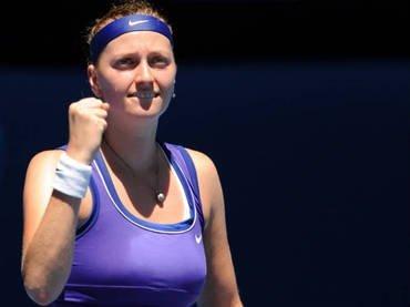 Petra Kvitova avanza a semifinales de Melbourne tras derrotar a Errani