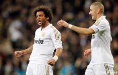Marcelo anotó uno de los goles del elenco merengue
