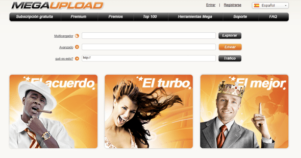 Megaupload: Directivos del sitio de descargas con libertad condicional