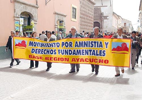 Marcha del Movadef