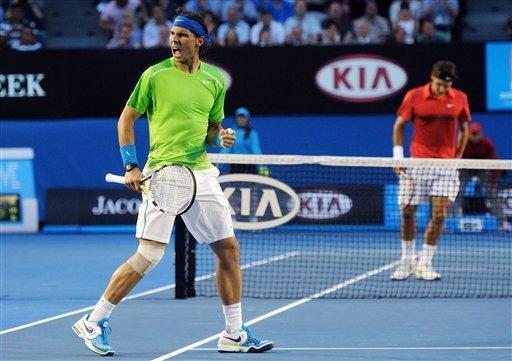 Nadal derrota a Federer y pasa a la final del Abierto de Australia