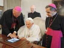 Benedicto XVI tiene una cuenta en la red social Twitter
