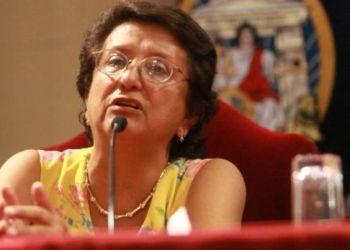 """Rosa Mavila sobre Javier Diez Canseco: """"El Perú perdió un gran líder, cuajado y valiente"""