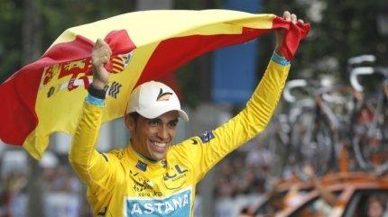 Alberto Contador quedó fuera del Tour de Francia y JJ.OO. de Londres
