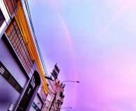 Arco Iris en Lima, imagen @antoniomanco