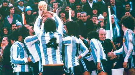 Instantánea del campeonato mundial que obtuvo Argentina en 1978