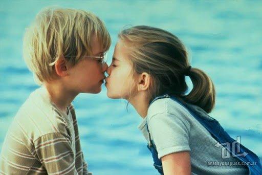 Macaulay Culkin y Anna Chlumsky