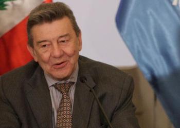 Canciller Rafael Roncagliolo