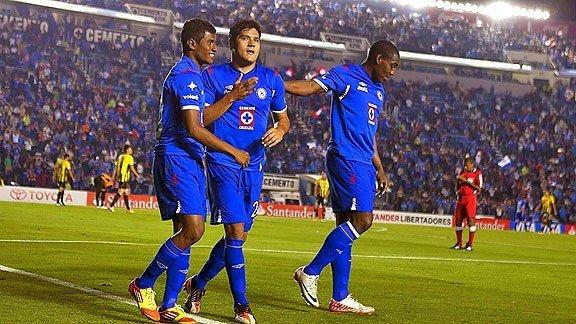 Cruz Azul de México es líder de su grupo en la Copa Libertadores