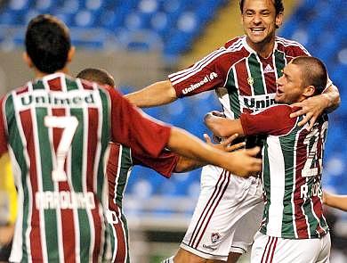 Fred marcó el solitario tanto con el que el Fluminense derrotó al Arsenal