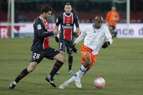 PSG y Montpellier igualaron 2-2 en el choque de punteros de la Liga Francesa