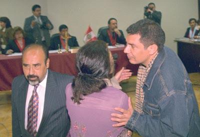 Chileno Lautaro Mellado en juicio