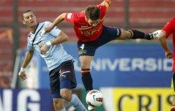 Unión Española de Chile marcó dos goles en un minuto y obtuvo el triunfo