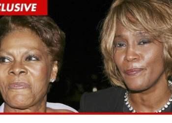 Whitney Houston y Dionne Warwick (TMZ)