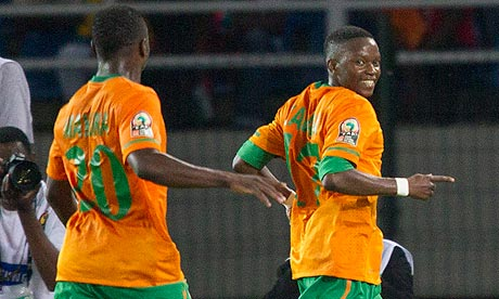 Zambia se ubicó en semifinales tras derrotar a Sudán claramente