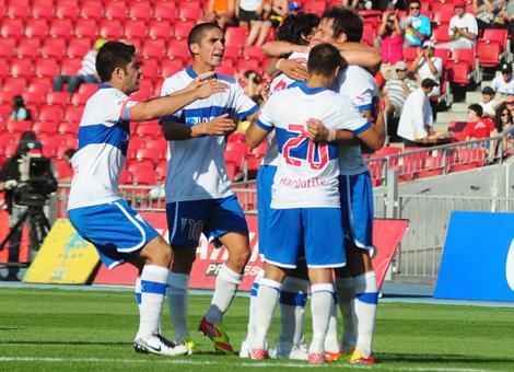 U Católica  sigue con chances en la Copa tras derrotar 2-1 a Unión Española