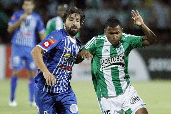 Nacional y Godoy Cruz igualaron 2-2 en un buen partido