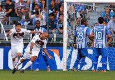 Dos goles del uruguayo Regueiro dieron el triunfo al Lanús