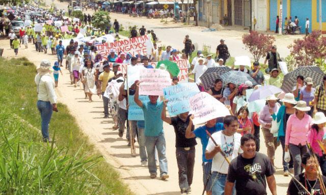 Protestas en Piura (Referencial)