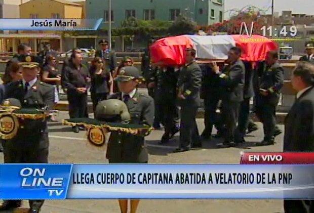 Restos de Nancy Flores Páucar llegan a velatorio