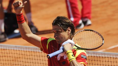 Ferrer selló el pase a semifinales de España por Copa Davis. Estados Unidos será su próximo rival