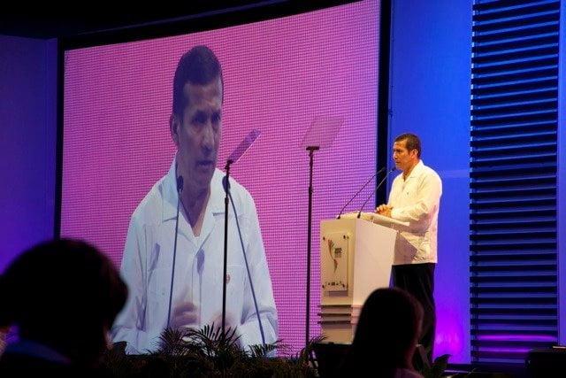Ollanta Humala en Cartagena