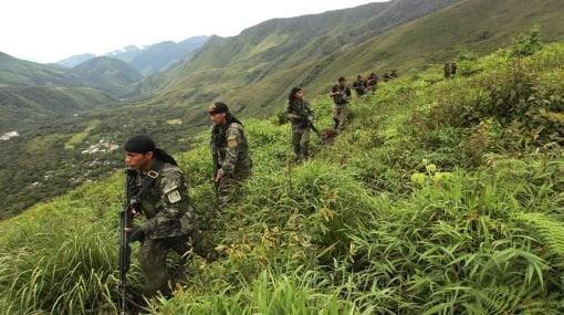 Narcoterroristas ahora colocan trampas minadas contra militares