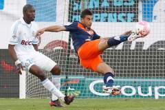 A pesar de caer ante Lorient, el Montpellier sigue liderando la Liga francesa de fútbol