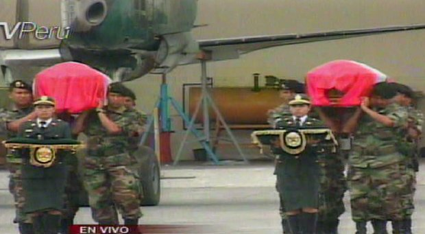 Dos héroes llegan a Lima