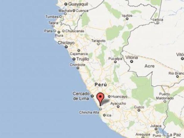 Un temblor de 4.6 grados se registró esta madrugada en Ica