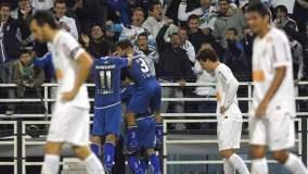 Vélez Sarsfield ´derrotó 1-0 a Santos. El próximo jueves definirán en Brasil la clasificación a semifinales
