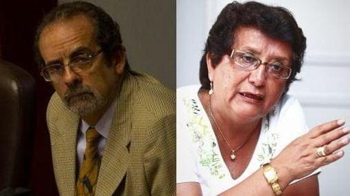 Javier Diez Canseco y Rosa Mávila