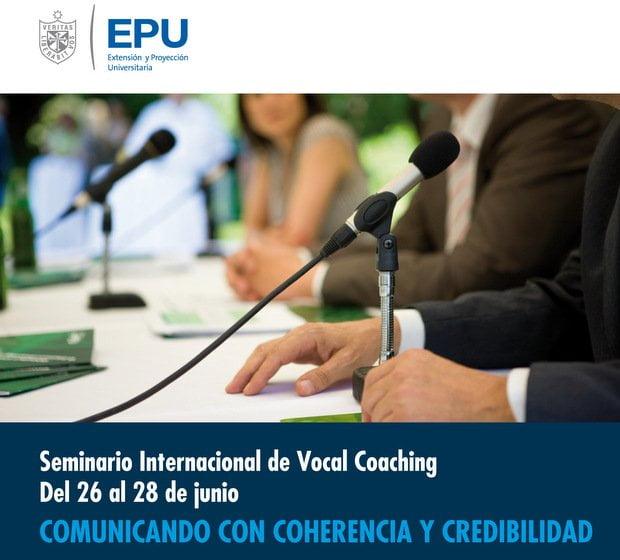 Seminario Vocal Coaching