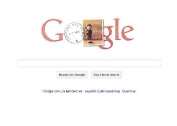 Doodle por la Independencia del Perú