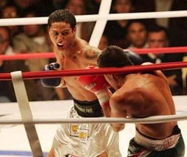 Maicelo noqueó a  ex campeón olímpico en Rstados Unidos