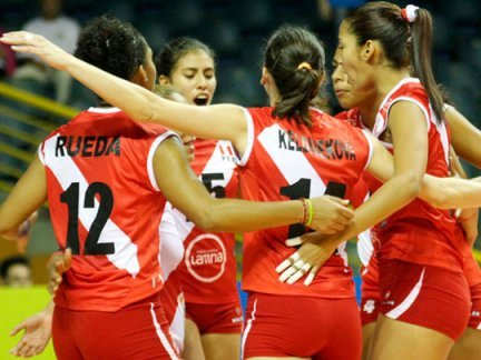 Perú avanzó a los cuartos de final de la Copa Panamericana de vóley al derrotar a Trinidad y Tobago