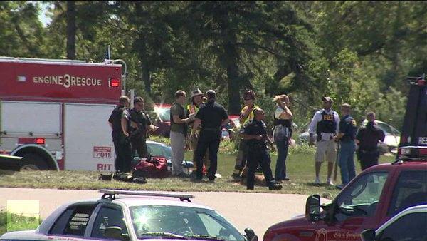 Ataque en Wisconsin, equipos de rescate y FBI en la zona