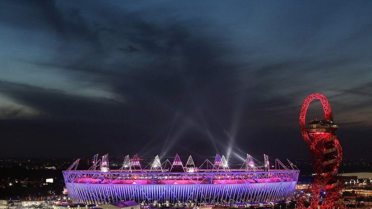 Las luces y la música para el final  / London2012.com
