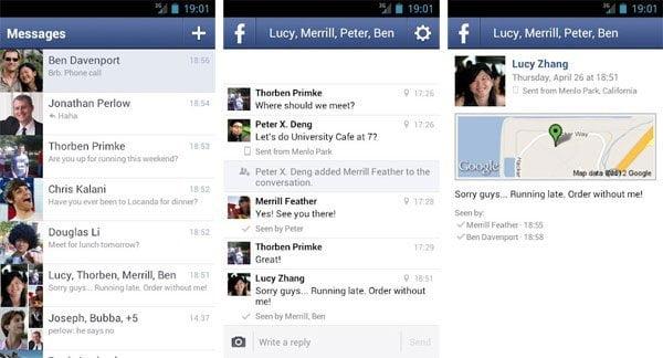 Facebook te obliga a bajar su aplicación para seguir chateando