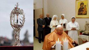 Reliquia de Juan Pablo II