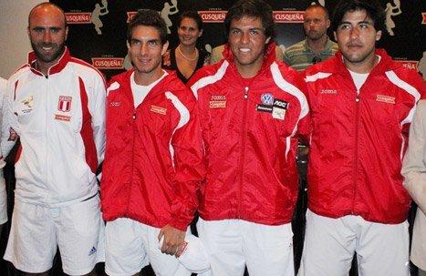 Perú enfrentará a Ecuador por la permanencia en el Grupo I de la Copa Davis