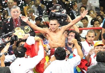 """""""Chiquito"""" Rossel continúa siendo el más grande a nivel mundial de la categoría minimosca de box"""